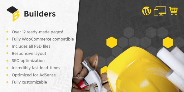 Builders - Responsive WordPress Theme