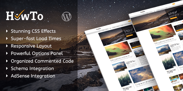 HowTo - Professional WordPress Blog Theme