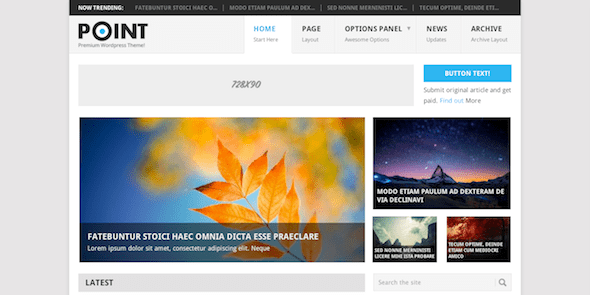 Point Multipurpose Responsive WordPress Theme
