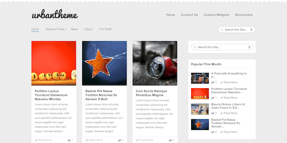 Urban Magazine WordPress Theme