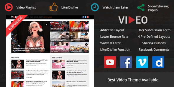 Best Video WordPress Theme For Bloggers