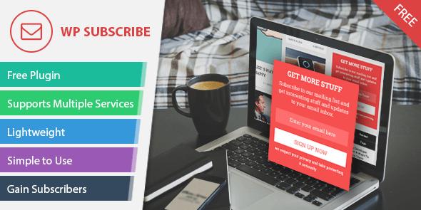 WP Subscribe – Free WordPress Plugin