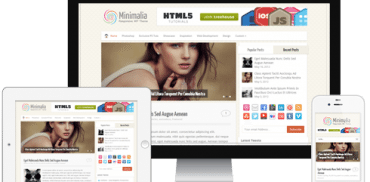 Minimalia WordPress Theme