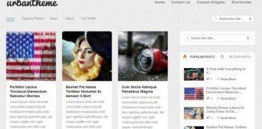 Urban WordPress Theme