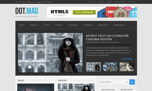DotMag WordPress Theme