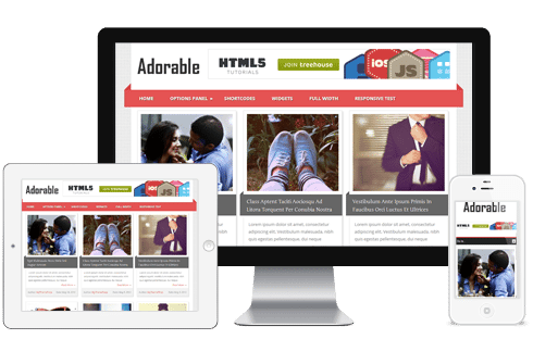 Adorable WordPress Theme