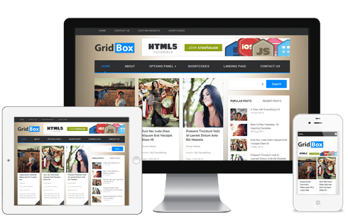 GridBox WordPress Theme