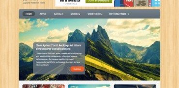 Woodie WordPress Theme