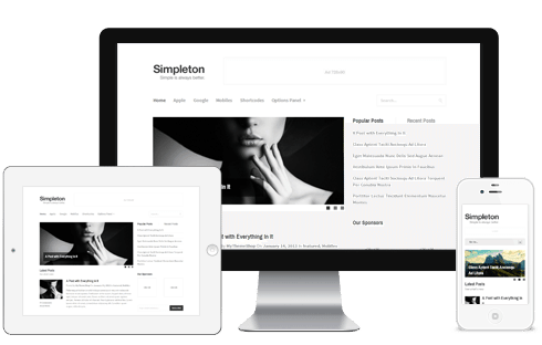Simpleton WordPress Theme
