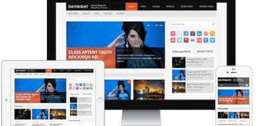 DayNight WordPress Theme