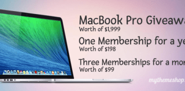 MacBook Pro Giveaway