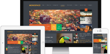 Monospace WordPress Theme