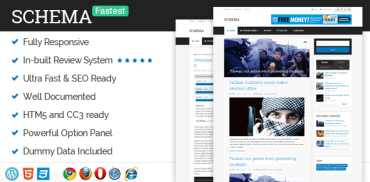 Schema - Fastest WordPress Theme Ever