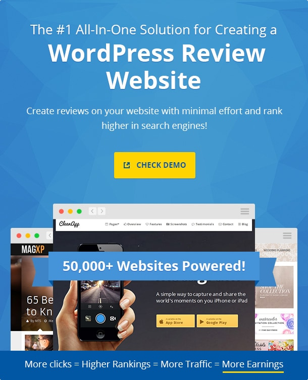 The #1 All-In-One Solution for Creating a WordPress Review Website
