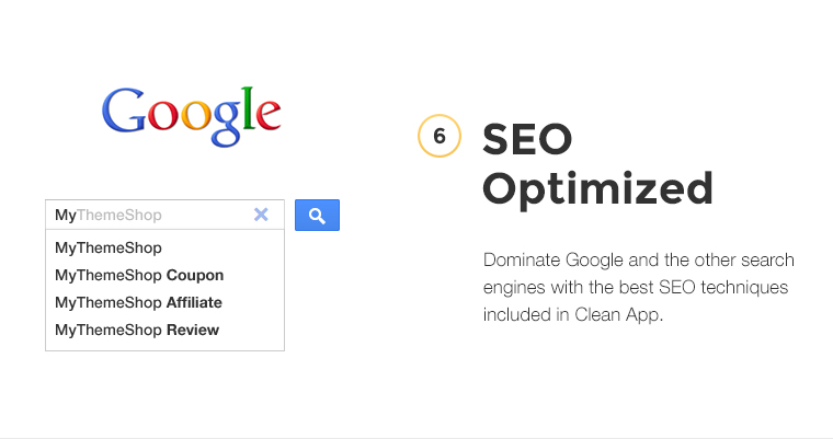 Dominate Google and the other search engines with the best SEO techniques included in CleanApp.