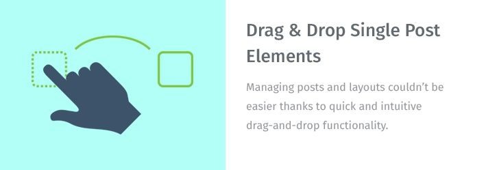 Drag & Drop Single Post Elements