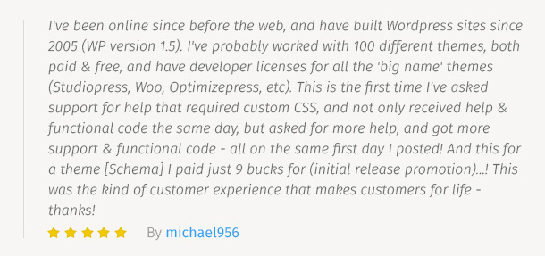 MyThemeShop Testimonial 3