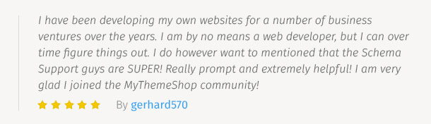 MyThemeShop Testimonial 6