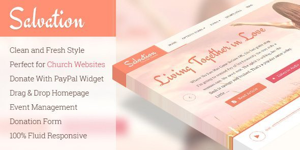 Salvation WordPress Theme