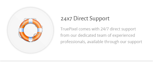 24x7 Direct Support