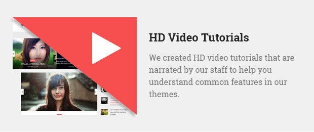 HD Video Tutorials