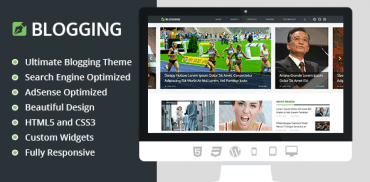 blogging-wordpress-theme