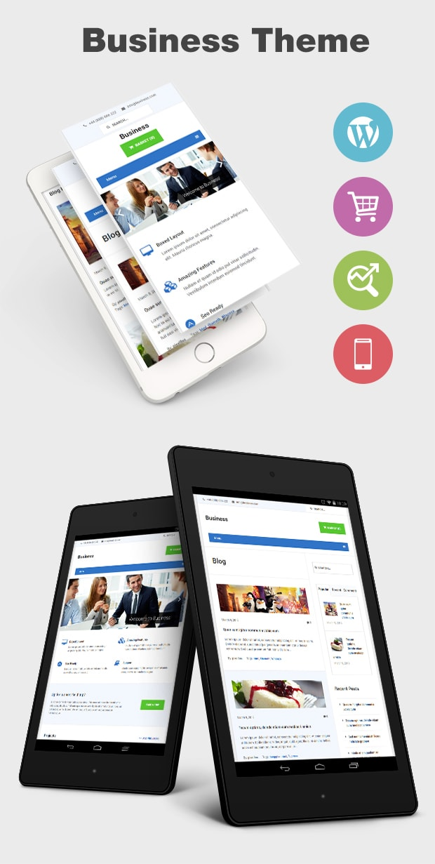 Business - Premium WordPress Theme