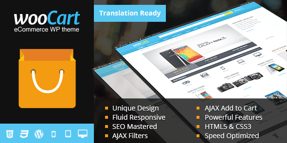 WooCart eCommerce WordPress Theme