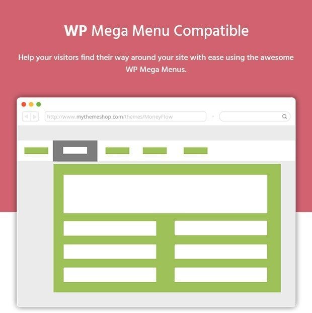 WP Mega Menu Compatible