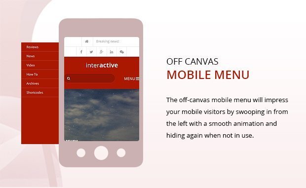 Offcanvas Mobile Menu