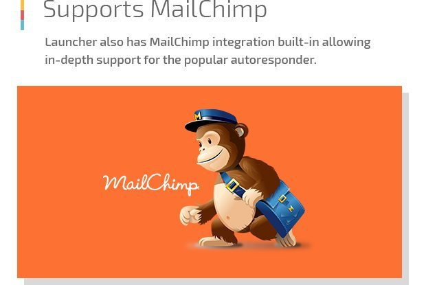 Supports Mailchimp