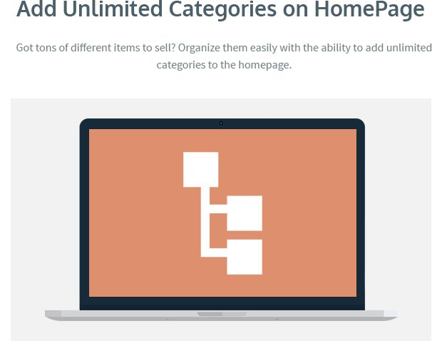 Add Unlimited Categories on the Homepage