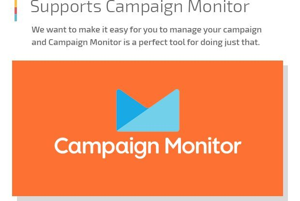 Supports Campaign Monitor