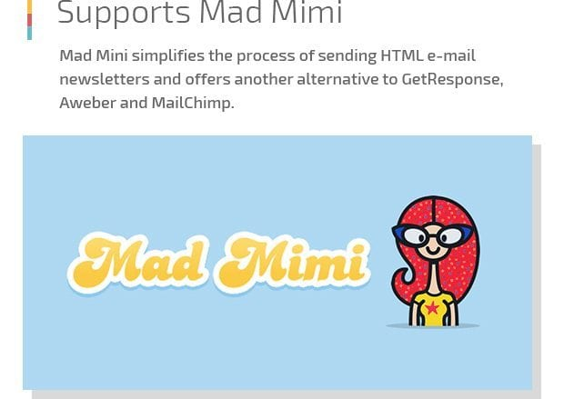 Supports Mad Mimi