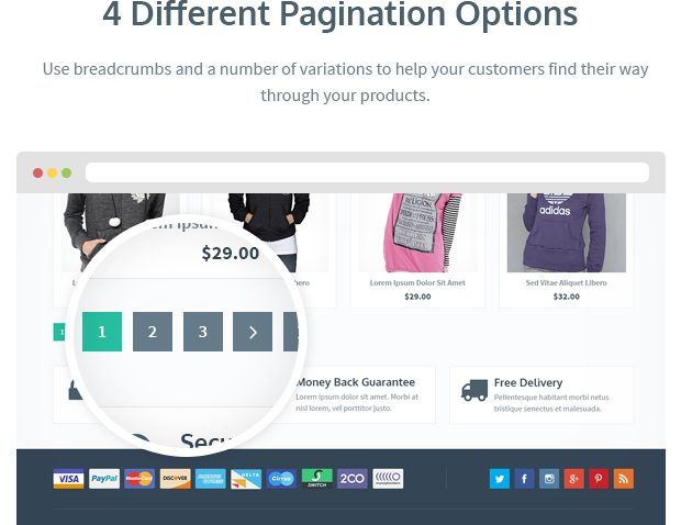 4 Different Pagination Options