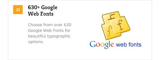 630 Plus Google Web Fonts
