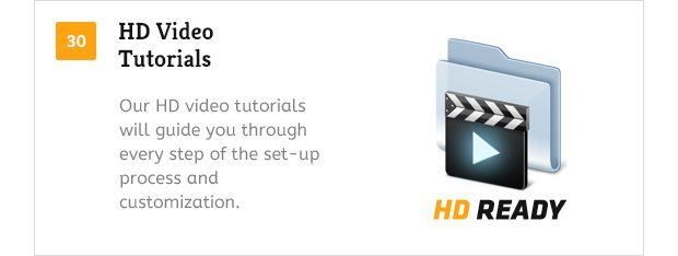 HD Video Tutorials