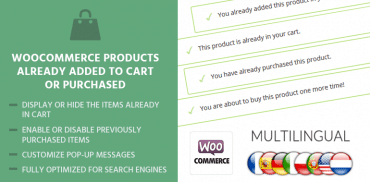 WooCommerce Products Already Added To Cart Or Purchased-770x385