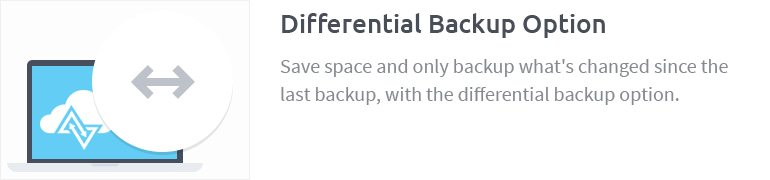 Differential Backup Option