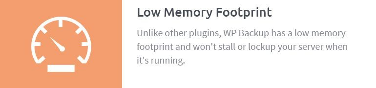 Low Memory Footprint