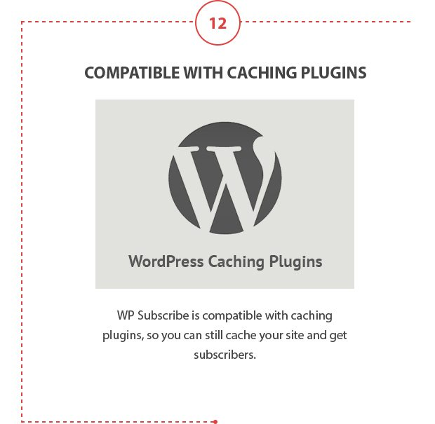 Compatible with Caching Plugins