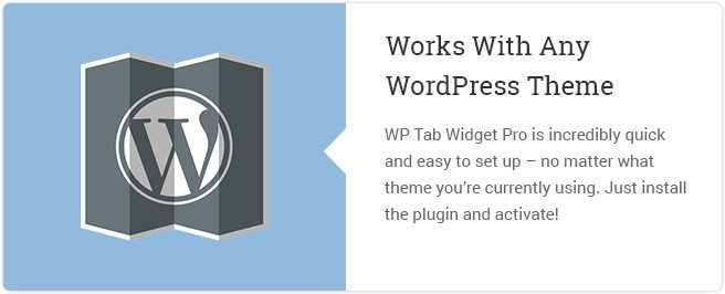 Works With Any WordPress Theme