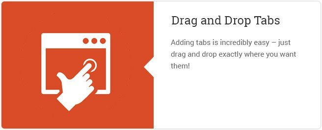 Drag And Drop Tabs