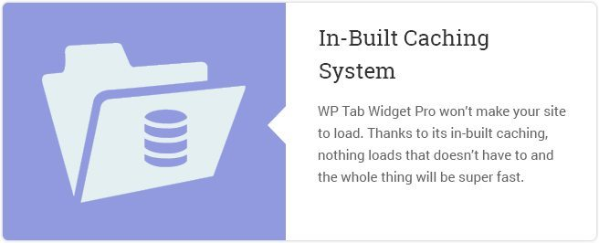 In Built Caching System