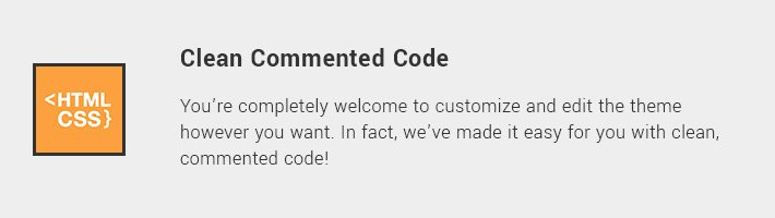 Clean Commented Code