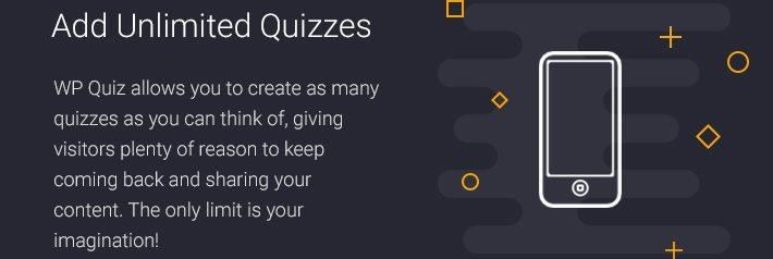 Add Unlimited Quizzes