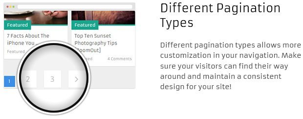 Different Pagination Types