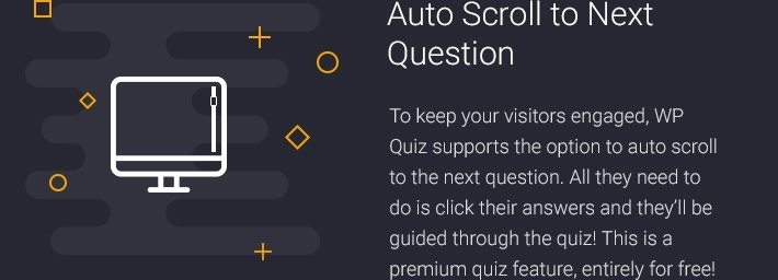Auto Scroll to Next Question
