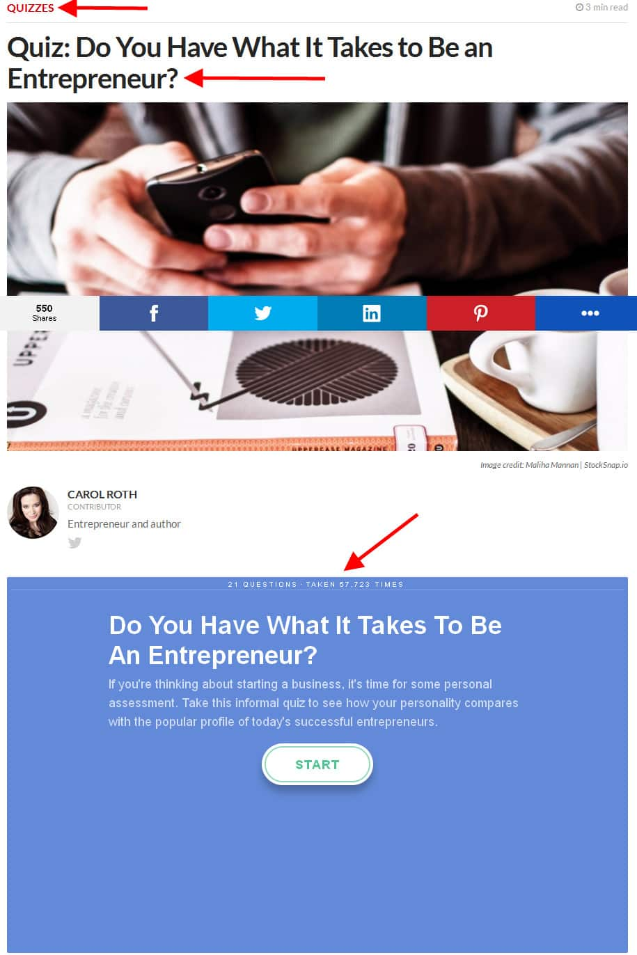 do you have what it takes to be an entrepreneur quiz