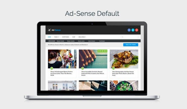 Ad-Sense Default Demo